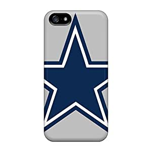 Anti-scratch Case Cover LastMemory Protective Dallas Cowboys Case For Iphone 5/5s