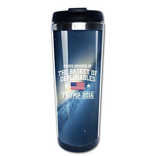 KI3SOP Proud Member Of The Basket Of Deplorables Trump 2016 Coffee Mug Travel Mug