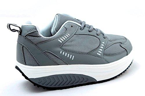 Dimagranti Scarpe Benessere Fitness Silver Glutei TM BASCULANTI RASSODA EGLEMTEK Sportive Grigio XRwqOpOx