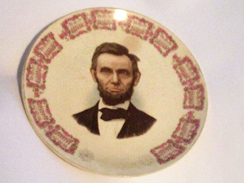 Antique Abraham Lincoln 1910 Calendar Plate 8.5