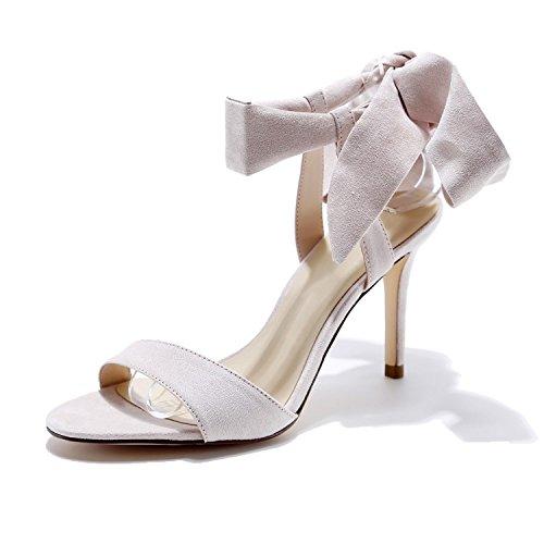 Hebilla De De Delgadas Y Eu37Cn38 Con Sandalias De Apricot Primavera Una De La Boca Hollow De Correas Sandalias Superficial Mujer Zapatos Tacones De Tiras 4xIqRqvn