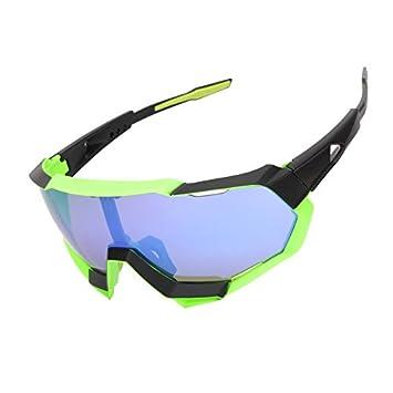 Aili Gafas De Bicicleta/Gafas De Montar, Gafas De Sol De Ciclismo Gafas De