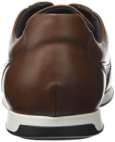 Geox Heren Clemet 1 Sneaker Cognac