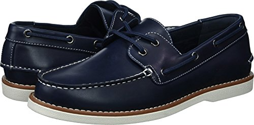 Unlisted by Kenneth Cole Men's Unlisted Santon Boat Shoe, Navy, 10 M US