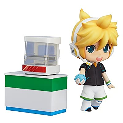 Good Smile Vocaloid: Kagamine Len Nendoroid Action Figure FamilyMart 2013 Ver.: Toys & Games