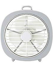 Ventilador USB, GLURIZ Ventilador de escritorio, 3 Niveles Velocidad del viento, Portátil Ventilador PC para Oficina/Hogar/Viajar/Acampar