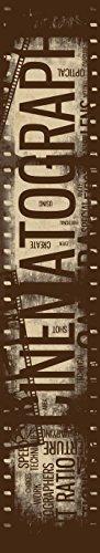 JP London uStrip Lite UCLT9024 Prepasted Mural Retro Film...