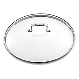 Le Creuset Tempered Glass Lid with Loop Handle for 11 Inch Nonstick Fry Pan