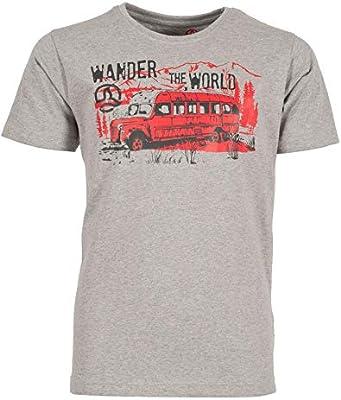Ternua Dickson Camiseta, Niños, Deep Silver, 04: Amazon.es: Ropa y accesorios
