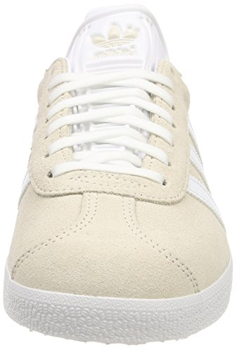 adidas Men's Gazelle Tennis Shoes Grey (Linen/Footwear White/Footwear White 0) clearance marketable huUisO4