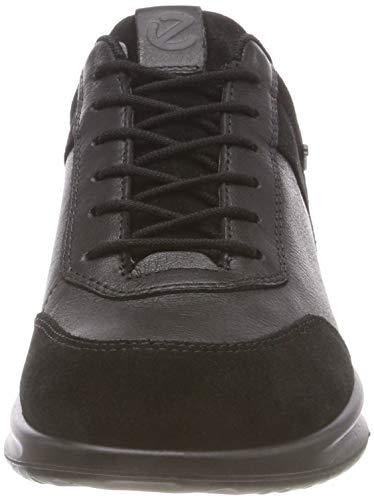 Zapatillas Black Mujer ECCO 51052 Aquet para Schwarz BfxRUx
