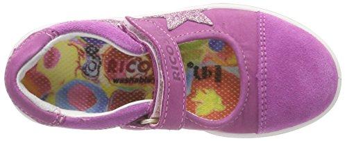 Ricosta Chloe, Bailarinas con Punta Cerrada Para Niñas Pink (Candy)