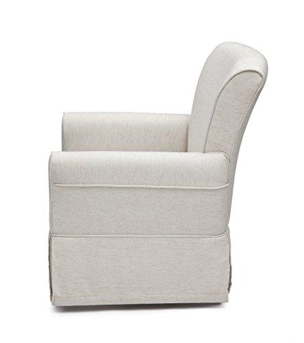 41gEqmDdD3L - Delta Children Upholstered Glider Swivel Rocker Chair, Sand