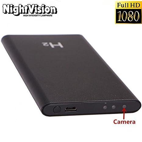 H2 Portable Mini HD 1080P 5000mAh Mobile Power Bank Spy Hidden Camera DVR Cam