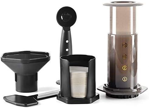 JIUYUE Cafetera Francesa Ollas de café, presión portátil Minipress ...