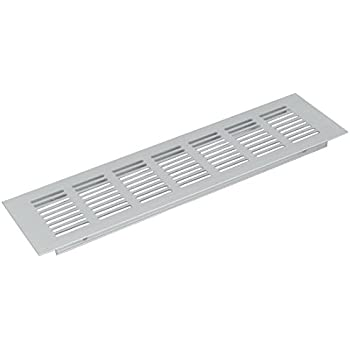 Air Vent Louvered Grill Covers Ventilation Grilles for Wardrobe Cabinet, 2pcs 200mmx80mm Aluminum Alloy - - Amazon.com