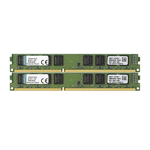 Kingston ValueRAM 16GB Kit (2x8GB) 1600MHz DDR3L Non-ECC ...