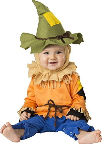 Straw Scarecrow Hat (Fun World Baby Silly Scarecrow, Multi, S)