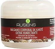 Rusens - Bálsamo Corporal de Karité y Caléndula 100% Natural, Extra humectante