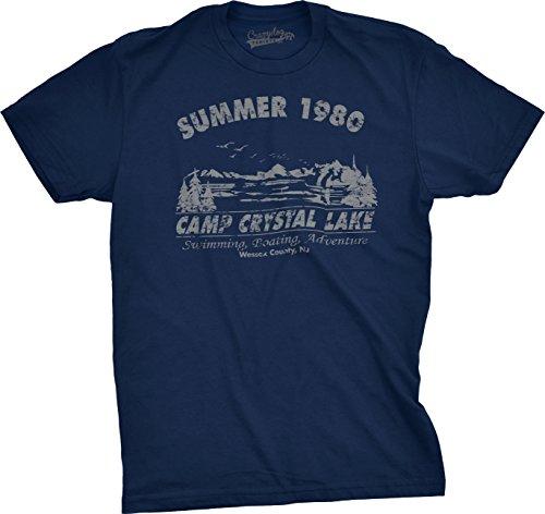 Camp Crystal Lake Summer 1980 T-Shirt Vi - 13th T-shirt Tee Shopping Results