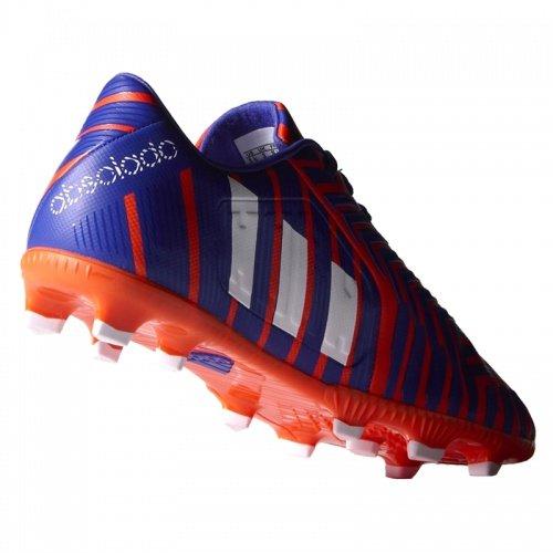 Adidas - Adidas P Absolado Instinct FG J Scarpini Calcio Bambino Arancio Viola B35474 - Orange, 30