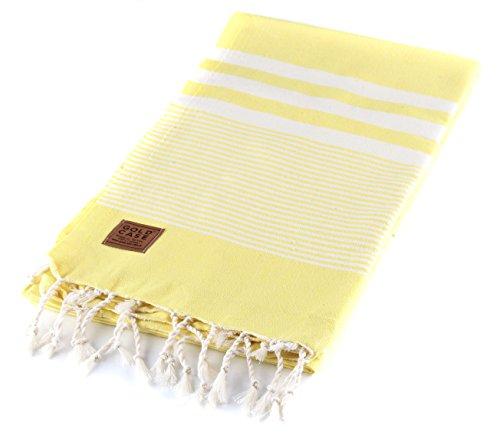 HERA pestemal by GOLD CASE - Basic Group - Made in Turkey / 100% Cotton - Bath-Beach-Sauna-Hamam-Spa-Yoga-Picnic Turkish Towel - 39x70