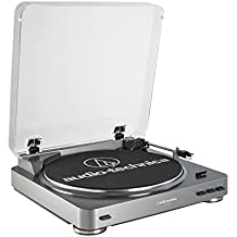Audio Technica AT-LP60-USB 2-Speed USB Stereo LP to Digital Recording System (Certified Refurbished)
