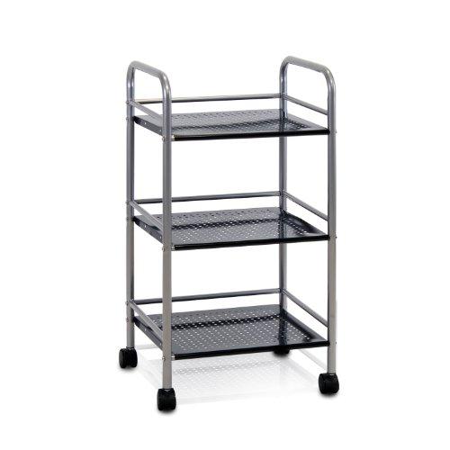 Furinno FNBJ 22082 3 Tray Rolling Storage