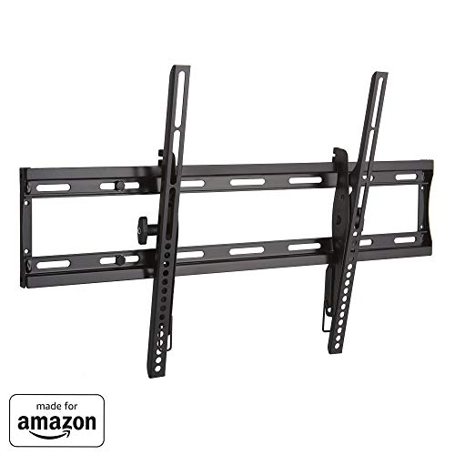 """Made for Amazon"" Sanus Low Profile Tilting TV Wall Mount Bracket for 40″-70″ TVs – Universal Design is Compatible with Fire TV Editions, TCL, Samsung & More"