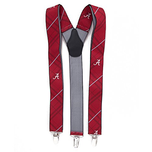 Eagles Wings EAG-8002 Alabama Crimson Tide NCAA Oxford Mens Suspenders