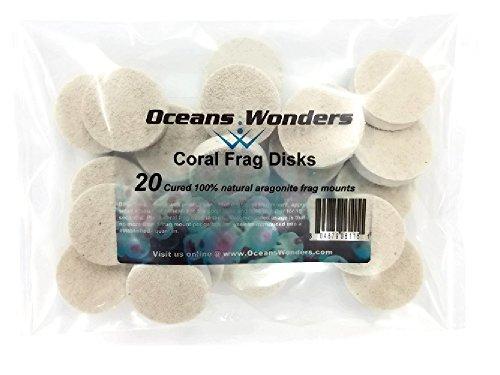 Coral Tile - Oceans Wonders 20-Piece Coral Frag Disks