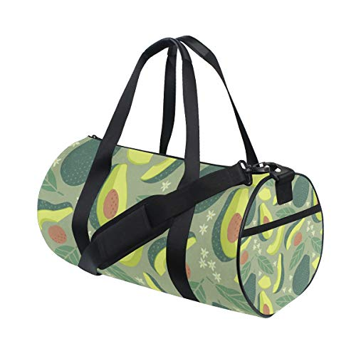 Sports Gym Bag Lightweight Canvas Gym Bag Travel Duffel Bag Travel Bags Rooftop Rack Bag Roofbag for Women and Men Vegetable Vitamins Picture