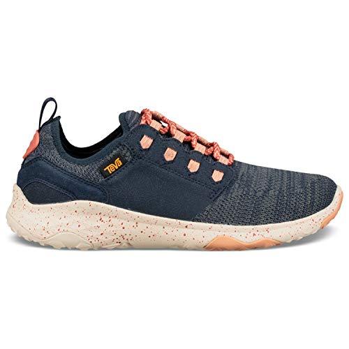 Teva New Women's Arrowood 2 Knit Sneaker Midnight Navy 8.5