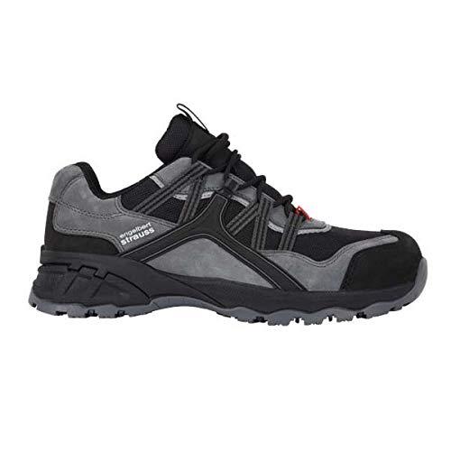 Enjauneert Strauss 8P93.61.3.42 Pallas Faible Chaussures de de de sécurité Noir Taille 42 4da