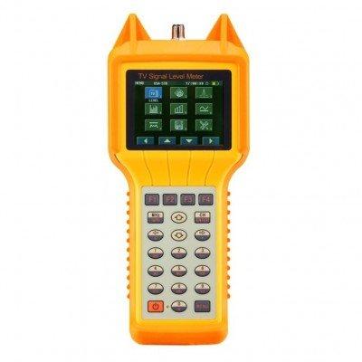 Signal Meter Level Digital (GAOTek Digital Signal Level Meter - High Performance, Analog, Digital, FM, and Dual Channel Measurement)