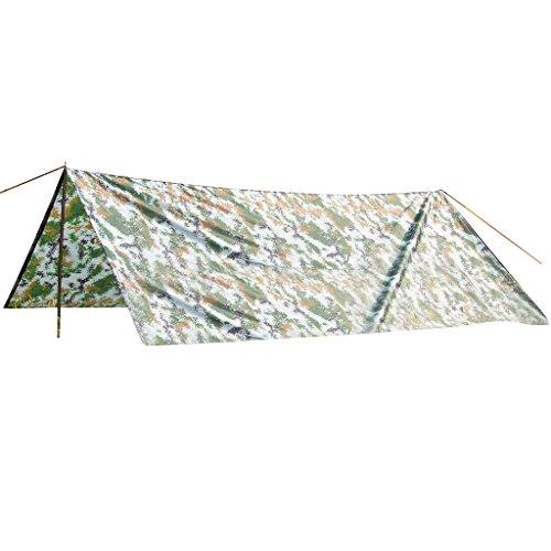 ノーブランド品 アウトドア ハイキング キャンプ トレイル用 防水 テント シェルター