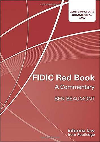 fidic redbook