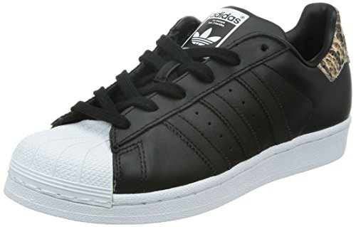 core Superstar Noir Basses Black white core B35440 Baskets Black Adidas Femme SwXYSd