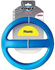 Kong Rogz Dog Toys Flingz Flyer Blue Floating Fetch Toy Large