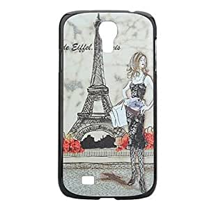 JAJAY-Cramp Iron Painting Pattern Hard PC Cas for Samsung Galaxy S4 I9500