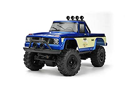MSA-1E Coyote Pup 4x4 RTR w/ 2.4 GHz DK Propo Radio, LiPo Battery + Charger: 1/24 Scale Ready to Run 4WD Electric Scaler Rock Crawler Pickup Truck