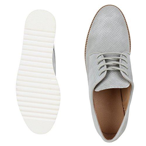 Japado - Zapatos de vestir brogues Mujer gris