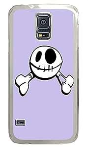 Samsung S5 case silicone Funny Skull PC Transparent Custom Samsung Galaxy S5 Case Cover