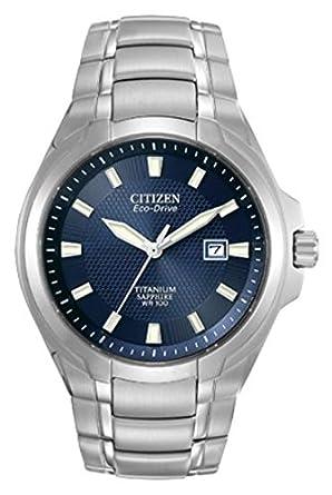 amazon com citizen eco drive men s bm7170 53l titanium watch citizen eco drive men s bm7170 53l titanium watch