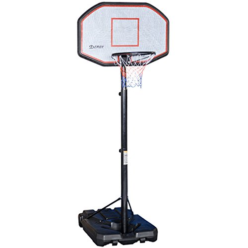 Giantex 10FT Portable Basketball Adjustable Height with Hoop System Backboard Indoor Outdoor