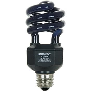 Sunlite SL20/BLB 20 Watt Spiral Energy Saving CFL Light Bulb ...