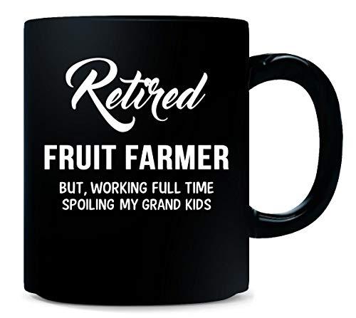 (Retired Fruit Farmer Spoiling Grand Kids - Mug)