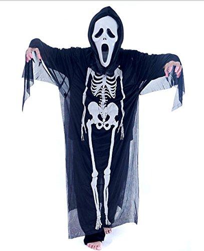 Adult Scream Ghost Costume S.M.L, Men & Women