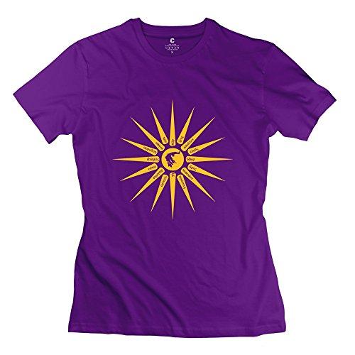 HANLU Women's Sun Sign T-shirt
