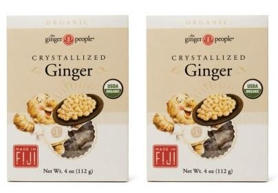 (Ginger People Organic Crystallized Ginger Box 4 oz (Pack of 2))